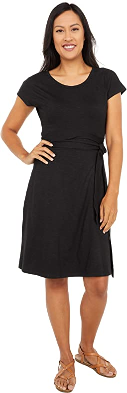 Cue Wrap Short Sleeve Dress