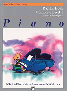 Alfred'S Basic Piano Library Recital 1 Complete