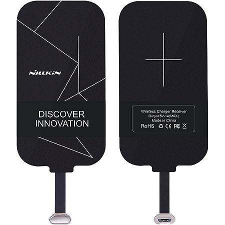 Nillkin スマホ対応ワイヤレスレシーバーシート アダプタ 置くだけで Qi(チー) 規格 android Micro USB端子対応 (A タイプ(Microポジティブ))
