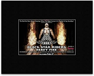 Stick It On Your Wall Black Star Riders - Heavy Fire 2017 Tour Mini Poster - 25.4x30.3cm