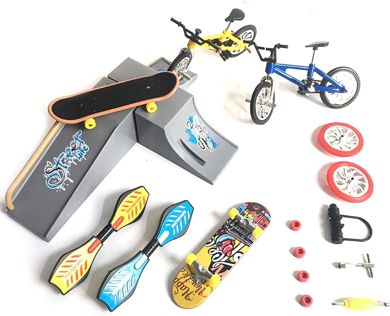 Mini Finger Toys Skate Park Parts New York Mall 1 year warranty Ramp Kit Ã