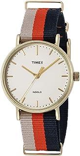 Timex Women's Fairfield 37mm Slip-Thru Strap Watch