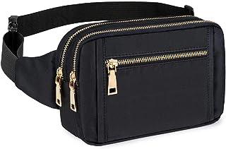 بسته های Fanny برای آقایان ، کیف های کمربند مد کمربند مد برای دختران نوجوان با کمربندهای قابل تنظیم چند جیب ، کیف Fanny Pack Bum برای سفر دیزنی دوچرخه سواری سفر دیزنی