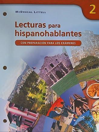 Avancemos!, Level 2: Lecturas para hispanohablantes