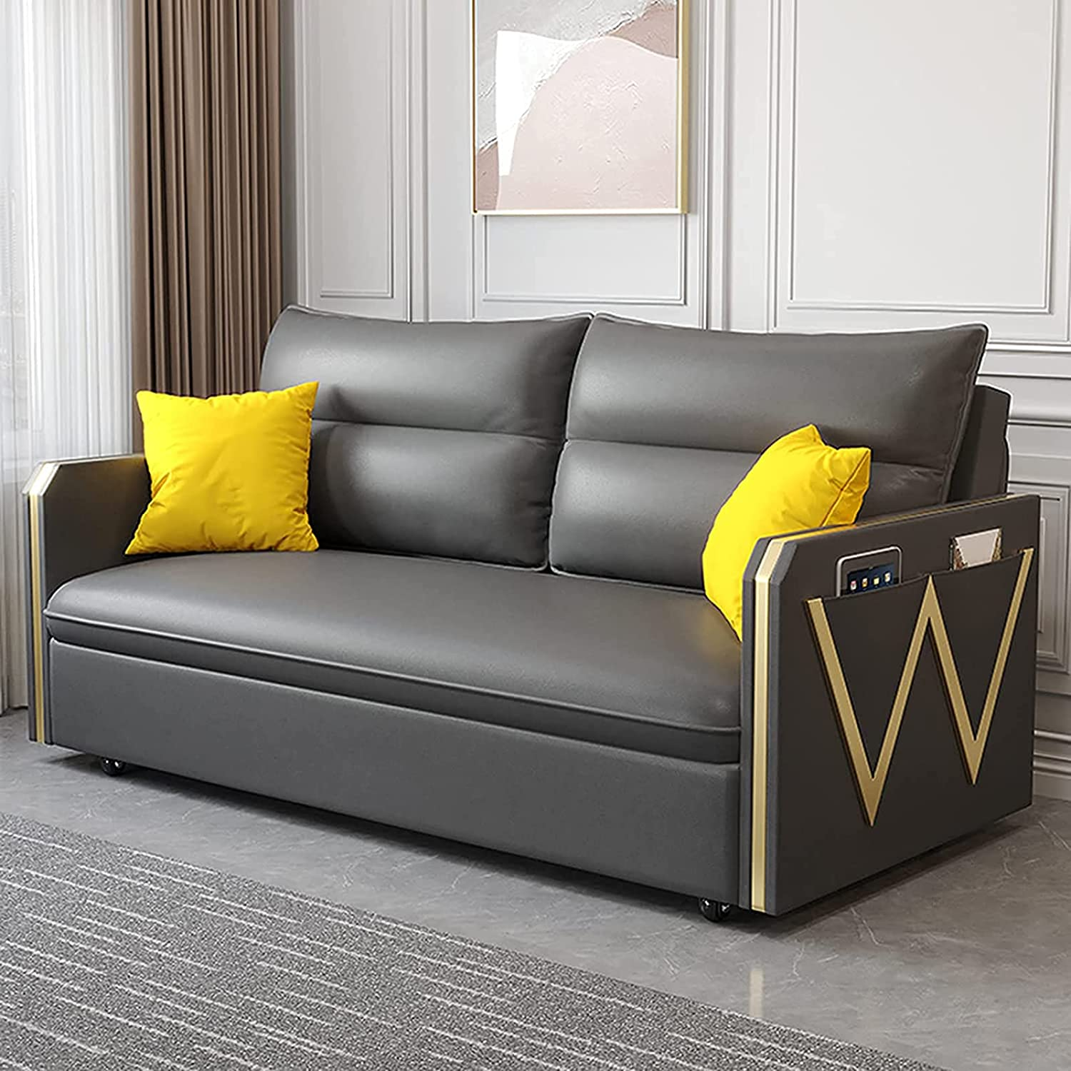 Folding Popular popular Sofa Bed Multifunctional Con Couch Double Pull-Out Los Angeles Mall