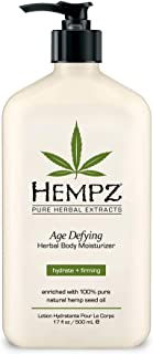 Hempz Age Defying Herbal Moisturizer, 17 oz (Quantity of 2)
