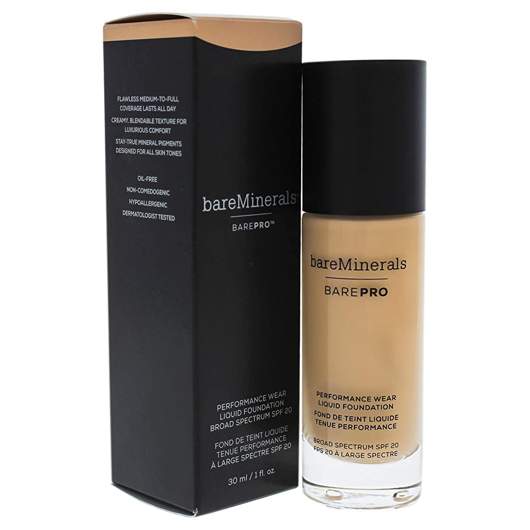 親指ピンク極小ベアミネラル BarePro Performance Wear Liquid Foundation SPF20 - # 11 Natural 30ml/1oz並行輸入品