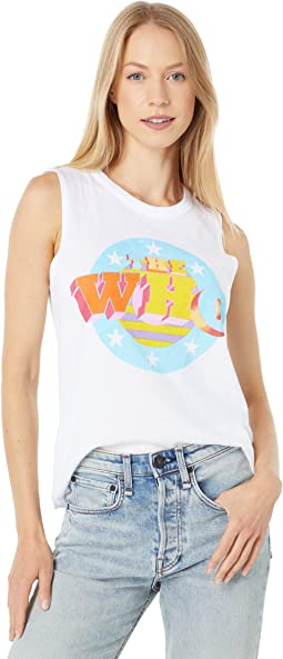 """""""The Who Stars and Stripes"""" Muscle Tank"""