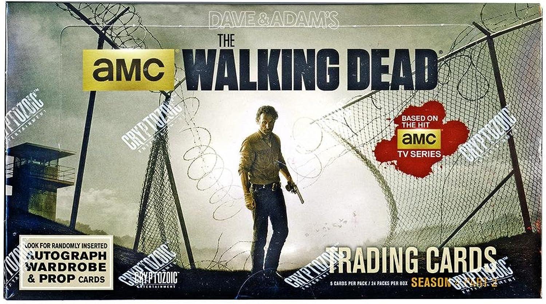 Walking Dead Season 4 Part 2 Trading Cards Hobby Box Cryptozoic by Cryptozoic Entertainment
