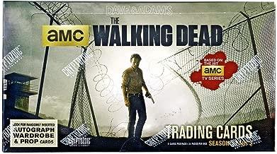 Walking Dead Season 4 Part 2 Trading Cards Hobby Box Cryptozoic