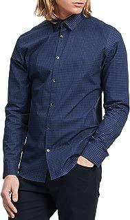 Calvin Klein Men's Long Sleeve Button Down Check Shirt