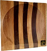 product image for New Alaska Ulu Chopping Bowl Board (Large 8 Inch- Use for 6 Inch ulu Blade)