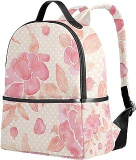 ユサキ(USAKI) リュック リュックサック 通学 花柄 ピンク