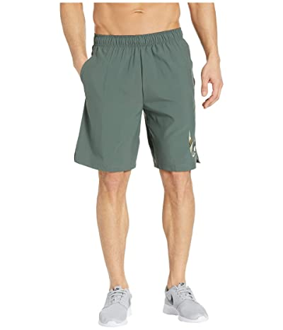 Nike Flex Shorts Woven 2 Layer Camo (Mineral Spruce) Men