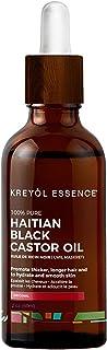 Haitian Black Castor Oil Kreyol Essence Kreyòl Longer Hair and Clear Skin As Seen On Shark Tank Original
