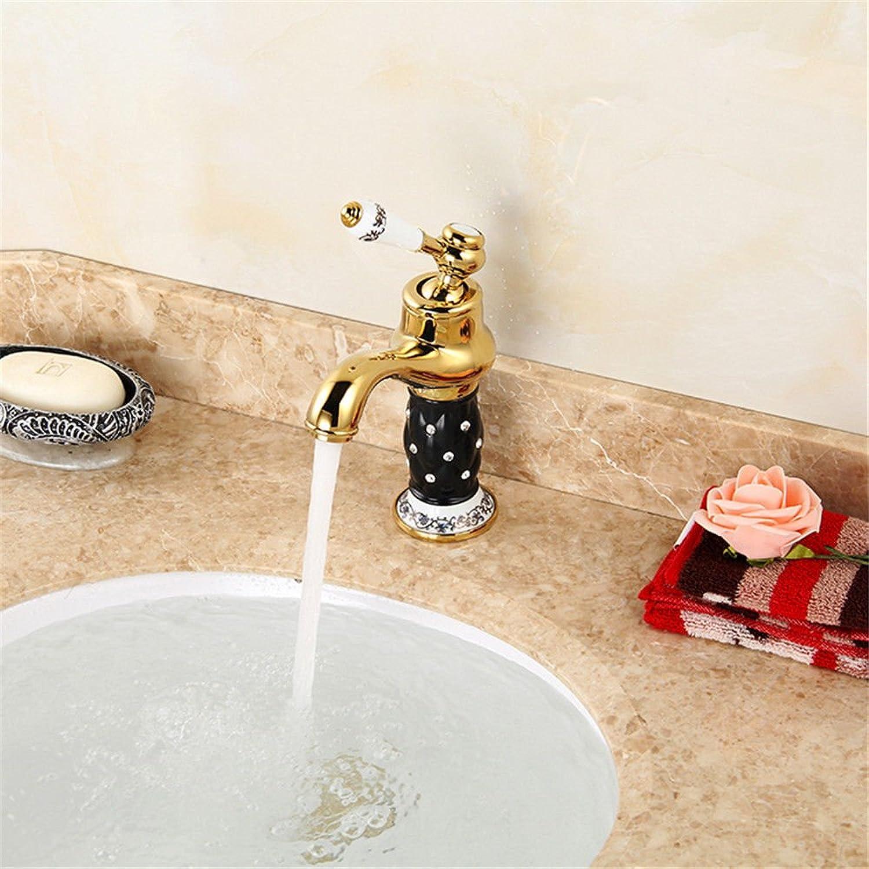 Lvsede Bad Wasserhahn Design Küchenarmatur Niederdruck Goldene Schwarze Hauptbecken Heien Und Kalten Wasserhahn Weie Jade Haupteinheit Einzelne Schnelle ffnung A145L