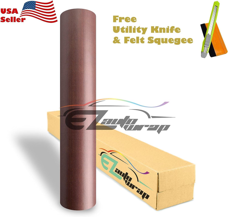 Free Tool Kit EZAUTOWRAP Finally resale start 02 Wood Japan's largest assortment Grain C Sticker Viny Wrap Decal