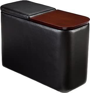 SEI Entertainment Companion Table - Black