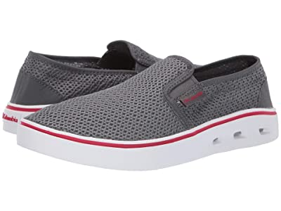 Columbia Spinnertm Vent Moc (TI Grey Steel/Mountain Red) Men