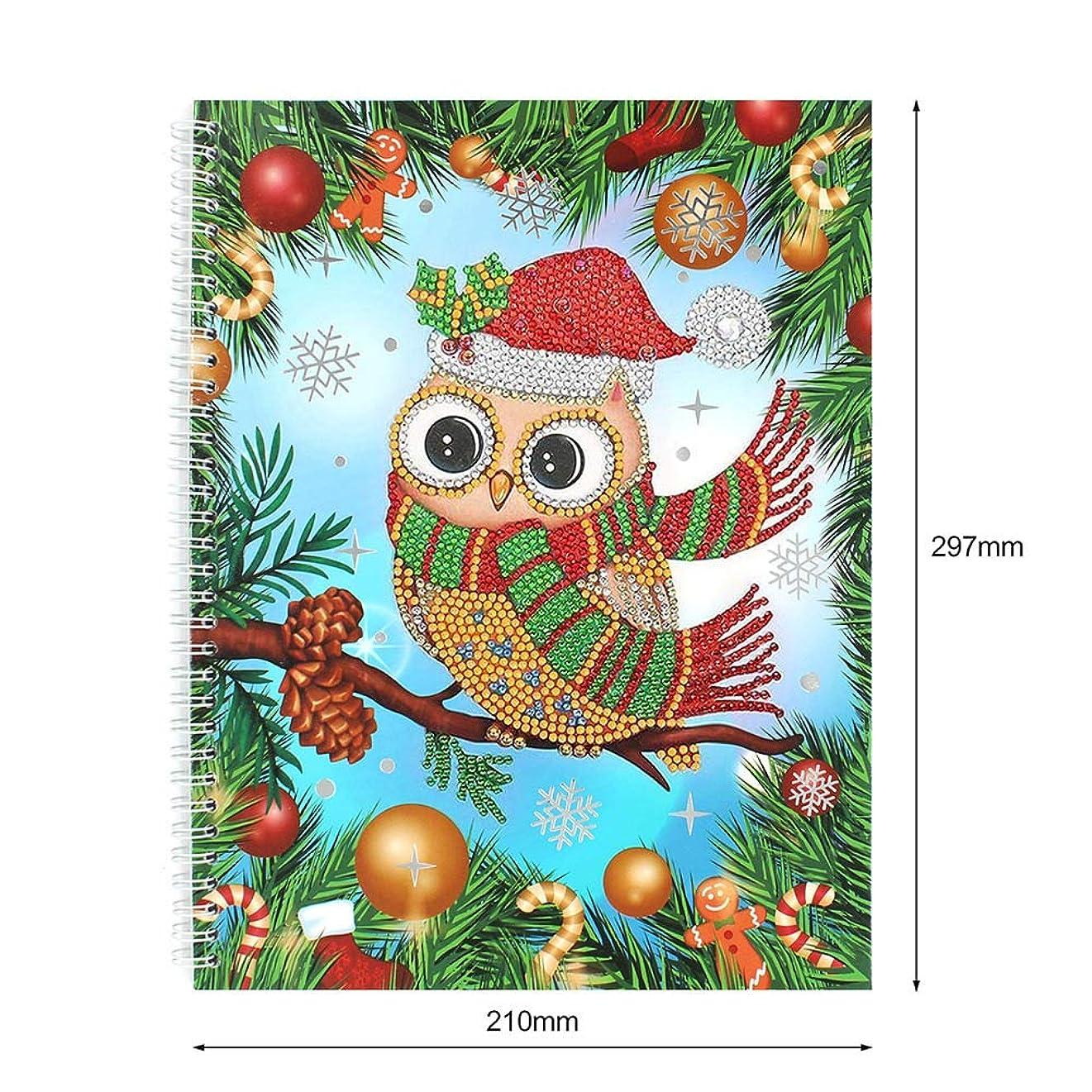 特別なアトム美人TaykooノートブックDIY特別な形の絵日記帳60ページA5刺繍ダイヤモンドクロスステッチクラフトギフトホーム