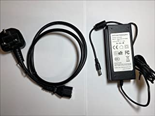 Vervanging voor 26V 2.3A AC-DC-adapter voor Tunturi ASW0081-2623002W + UK Plug