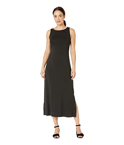 Tommy Bahama Tambour Sleeveless Midi Dress (Black) Women