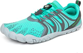 SAGUARO Barefoot Aqua Water Shoes Mens Womens Quick-Dry Lightweight for Beach Sea Sport Swim Surf Trail Running Shoes