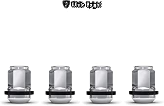 White Knight 1907WR Chrome Honda Civic OEM Factory Style Lug Nut with Washer, 4 Pack