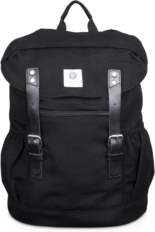 Ridgebake Otone Canvas Rucksack 998 schwarz schwarz Leather B01G58FDA2 | Verkauf