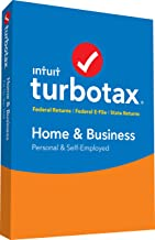 TurboTax Home & Business + State 2018 Tax Software [PC/Mac Disc] [Amazon Exclusive]