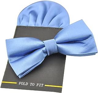 PenSee Herren Fliege Mehrfarbig Light Blue /& Black onesize