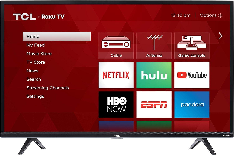 2019 TCL 40S325 40 Inch 1080p Smart LED Roku TV