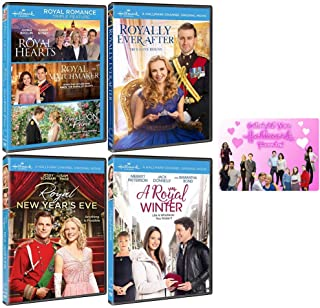Hallmark Royal Romance Collection: 6 Movies (Royal Hearts / Royal Matchmaker / Once Upon A Prince / Royally Ever After / Royal New Year's Eve / A Royal Winter) + Bonus Art Card