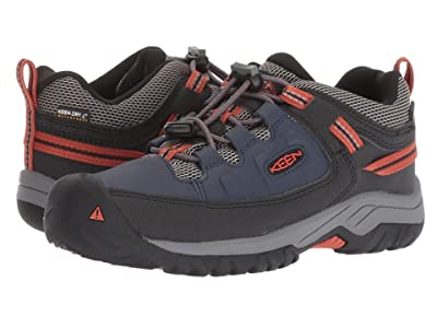 Keen Kids Targhee Low WP (Little Kid/Big Kid) (Blue Nights/Roobios) Boy