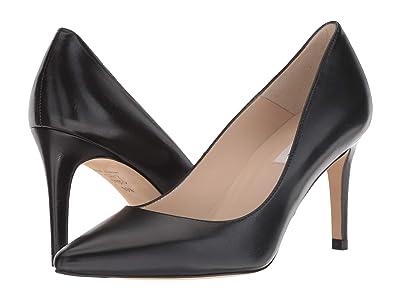 L.K. Bennett Floret (Black Nappa Leather) High Heels