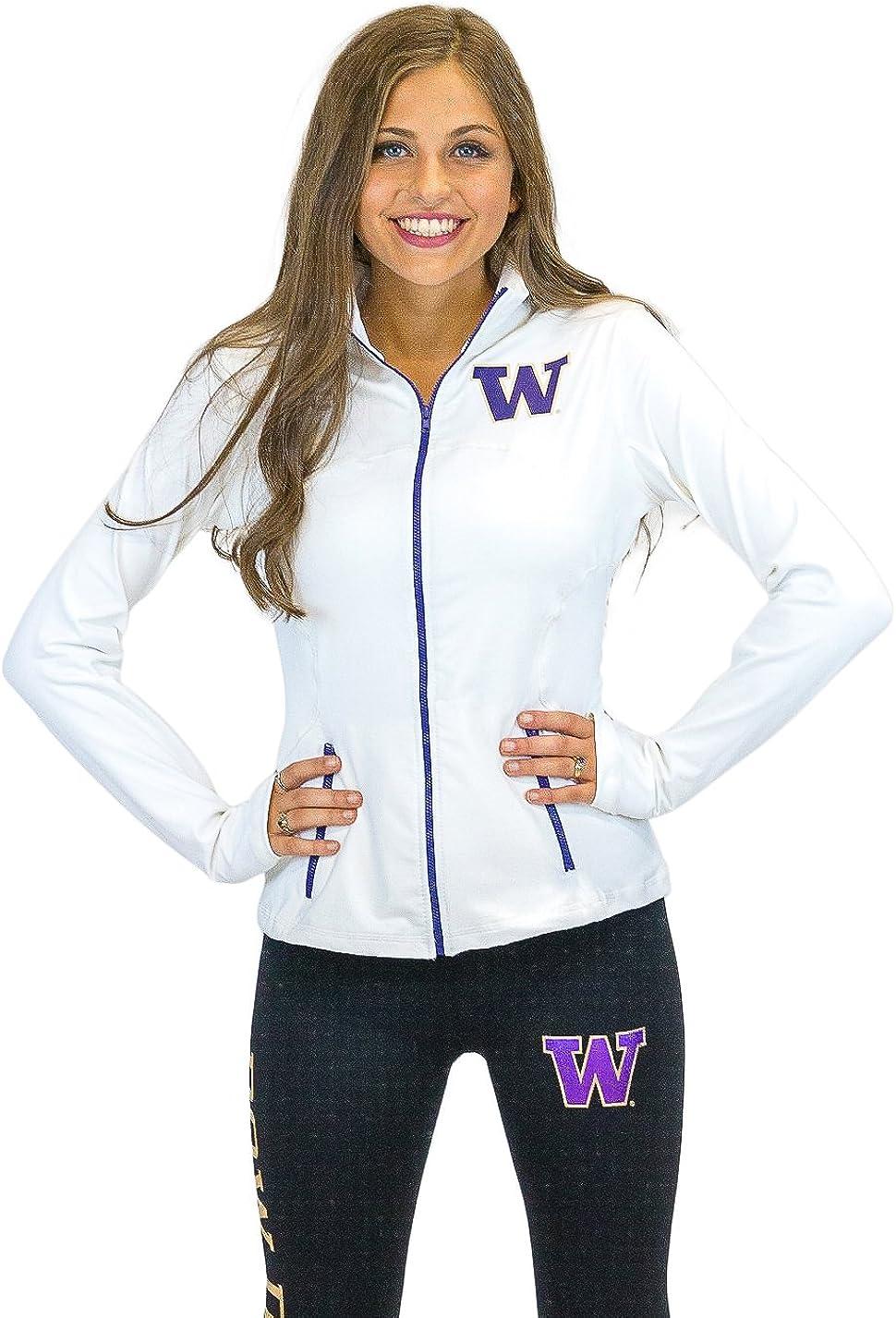 Twin Vision Activewear Washington Track Rhinestone Limited time Arlington Mall cheap sale Huskies Yoga