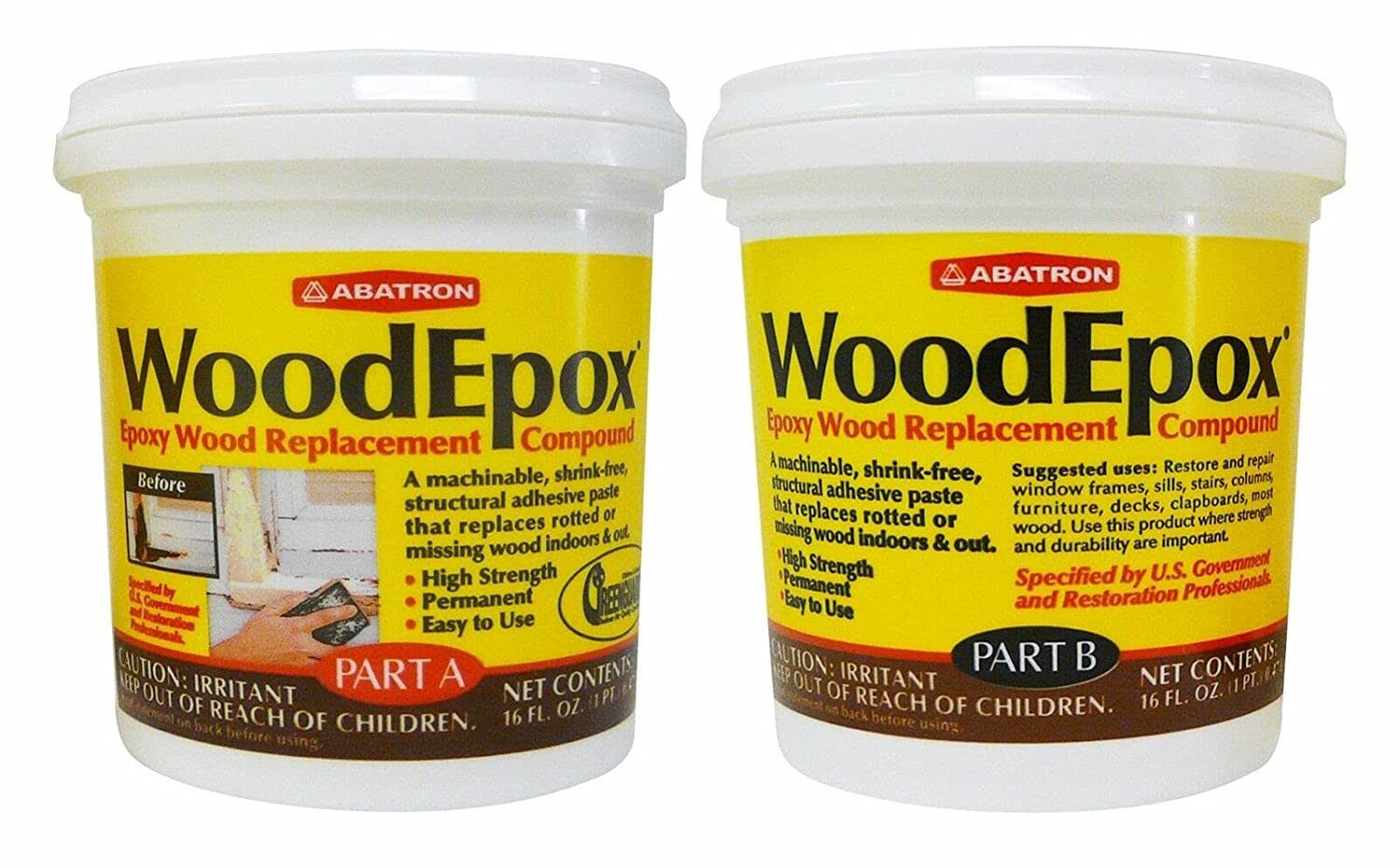 1 Pc New York Mall of Max 84% OFF WoodEpox Pints 2 AI.WE2PKR Kit