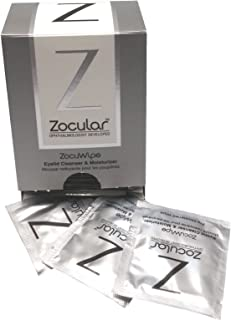 ZocuWipe (40 CT) - Natural Eyelid Hygiene Care with Okra