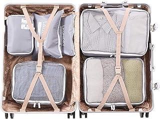 Grey P Travel Suitcase Organizer 6 pieces
