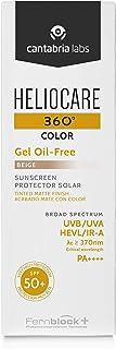 Heliocare 360º Color Gel Oil-Free SPF 50+ - Fotoprotección Avanzada con Color Textura Ligera Pieles Mixtas o Grasas Aca...