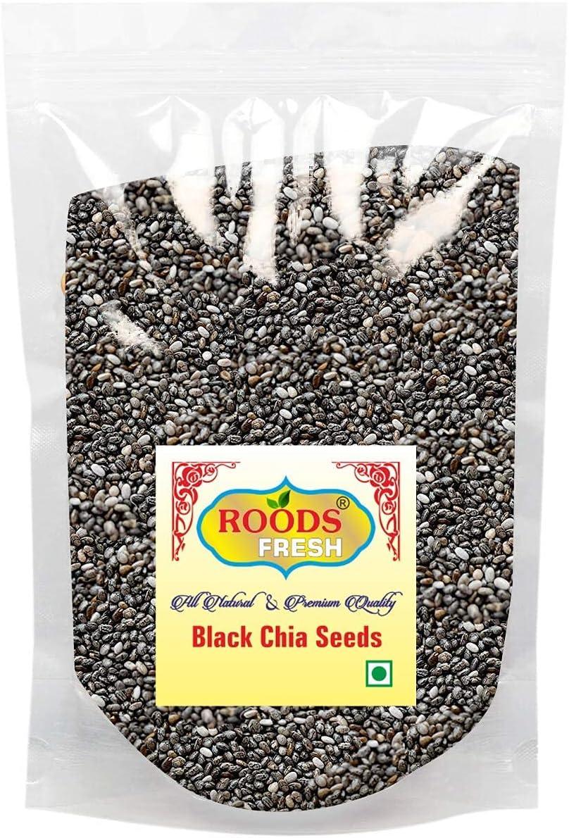 Trisha Roods Fresh Organic Premium Chia 900 Seeds Black Rapid rise Max 58% OFF Gram