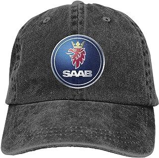 Men's Baseball Caps Saab Automobile Motor Flex Fit Hat Cap Baseball Men's Hats