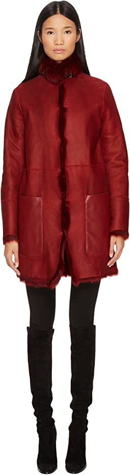 BELSTAFF - Kentledge Shearling Toscana Reversible Jacket
