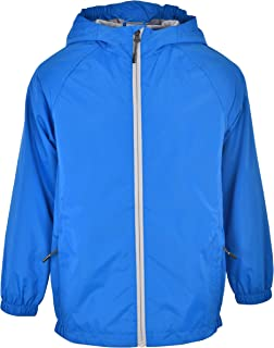 Swiss Alps Boys Wind Resistant Lightweight Rain Jacket