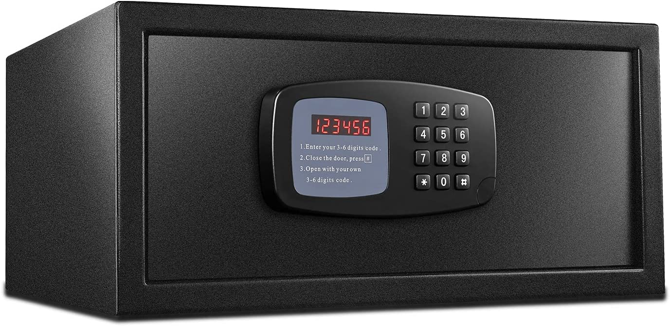 Vaykold Electronic Security Safe Box Seasonal Wrap Introduction and Lock Saf Fireproof All items in the store