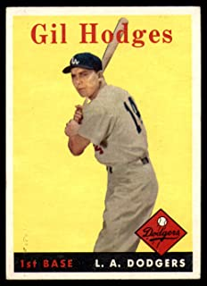 Best 1958 topps gil hodges Reviews