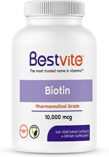 biotin maximum strength 10 000 mcg