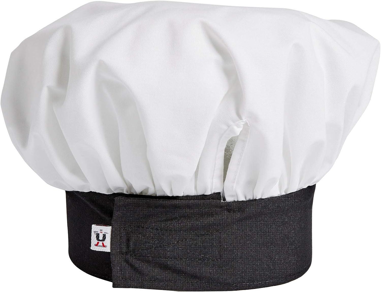 Uncommon Threads Unisex Twill Chef Hat