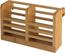 Totally Bamboo Flatware, Cutlery and Utensil Drying Caddy fits Totally Bamboo Dish Drying Racks (20-6703)