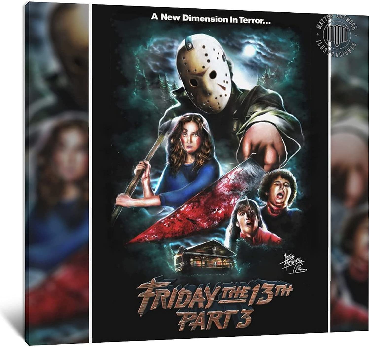 IFUNEW in-House Limited time sale Movie Poster Canvas Pict Wall and Recommendation Art
